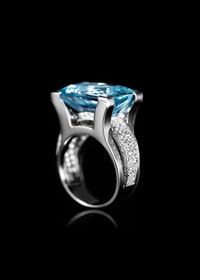 BAGUE ARC BRILLANT